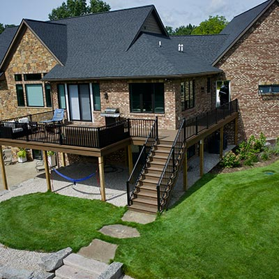 Allendale, MI Custom Deck Builds For Homes